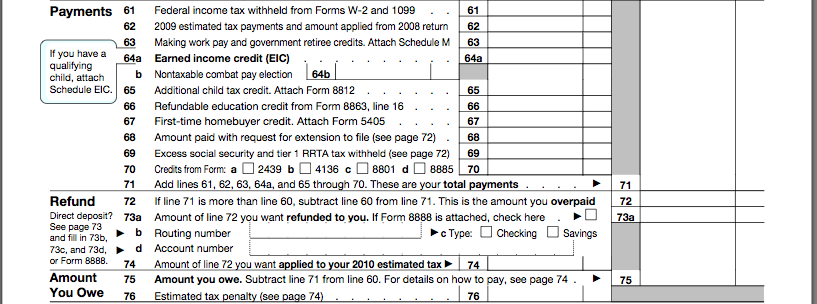 How to Fill Out Form 1040: Preparing Your Tax Return